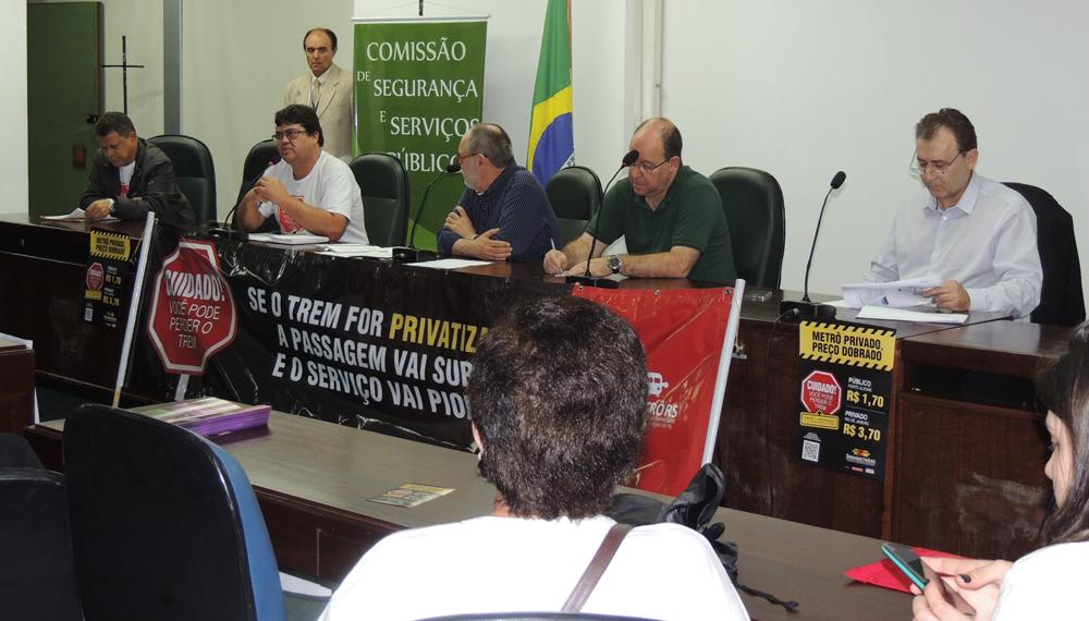 Presidente do Sindimetrô/RS se posiciona contra a privatização