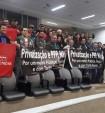 Audiência pública mostra contrariedade dos metroviários à privatização da Trensurb