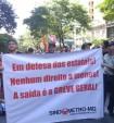 Sindicato dos Metroviários de Minas Gerais realiza atividade contra privatização