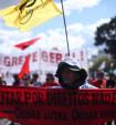 Milhares resistiram em Brasília contra Temer e suas Reformas